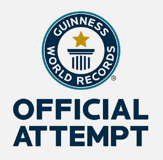 Guinness World Record.
