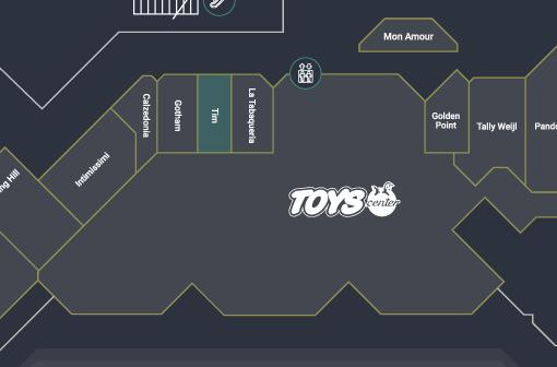 immagine mappa della posizione nel centro commerciale