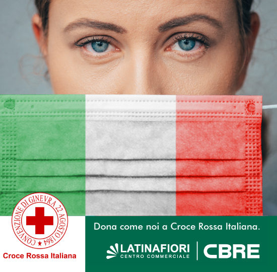 Latinafiori per Croce Rossa Italiana.