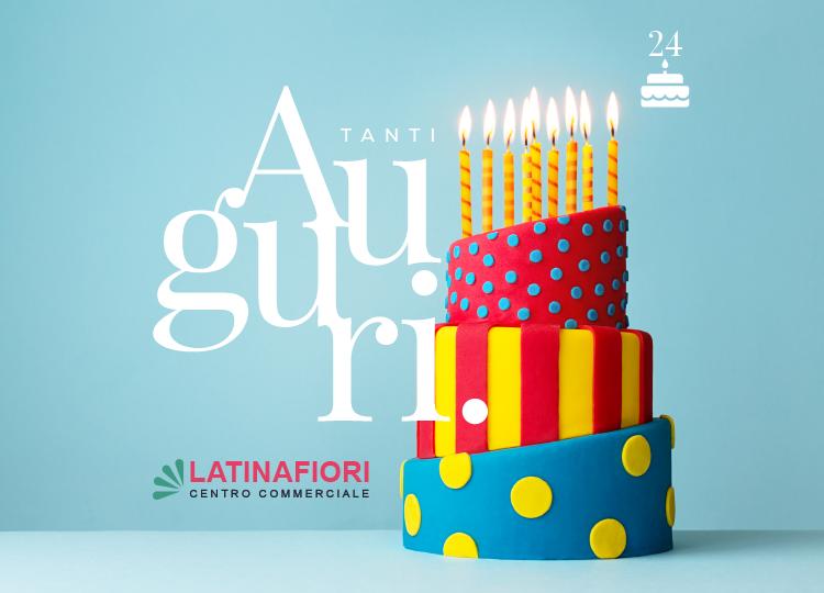 Buon compleanno Latinafiori
